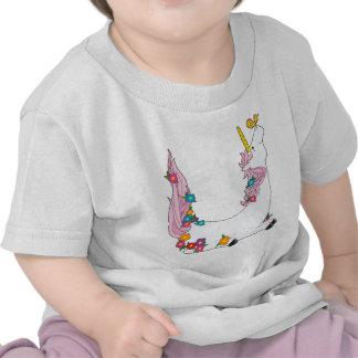 Animal Alphabet Unicorn Tshirt