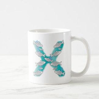 Animal Alphabet X-Ray Fish Coffee Mug