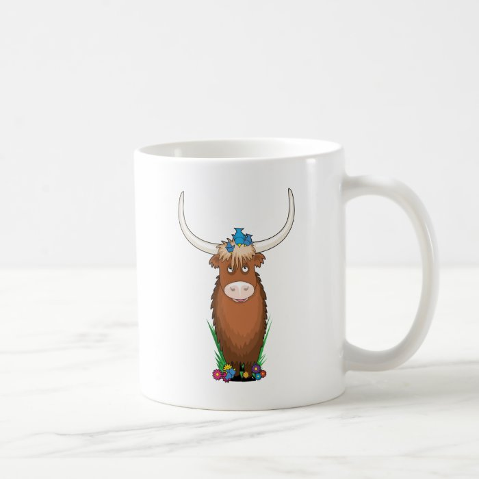 Animal Alphabet Yak Coffee Mug