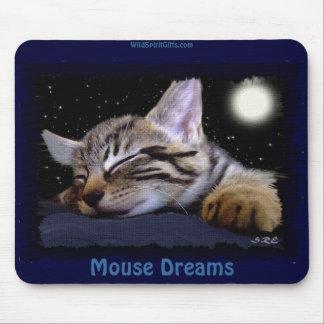 Animal-amante lindo DURMIENTE Mousepad del GATITO