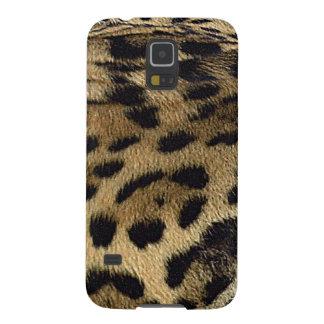 Animal-Amante salvaje del gato de la piel de Carcasa Para Galaxy S5