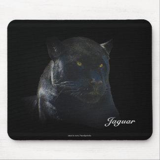 Animal-Amante salvaje negro Mousepad del gato de J Tapete De Ratones