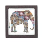 Animal amistoso majestuoso: Tejas de mármol del el Caja De Joyas De Calidad