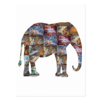 Animal amistoso majestuoso: Tejas de mármol del Postal
