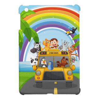Animal and bus iPad mini covers