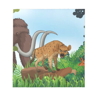 Animal and jungle notepad