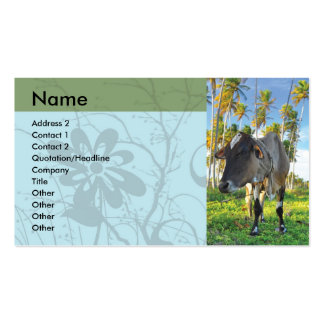 Animal and Landscape Card Business Card
