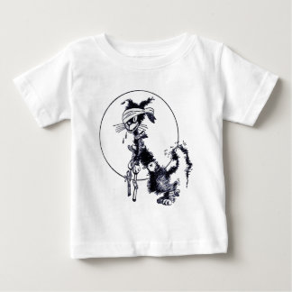 Animal - Animal acting human - Cat out all night g Baby T-Shirt
