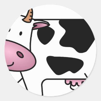 Animal animals custom personalize Anniversaries Classic Round Sticker