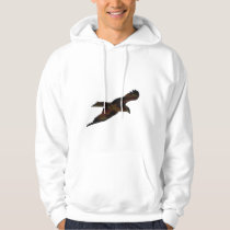 Animal Art Pixel Bird Hoodie From Stuff N Things