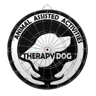 Animal Assisted Activities  - THERAPY DOG logo 01 Dart Board