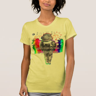Animal Astronauts in Space Mission Hippo T Shirt