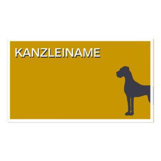 Animal attorney Visitenkarte Business Card