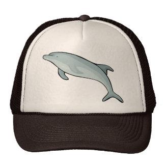 Animal azul de los pescados de los mamíferos marin gorras
