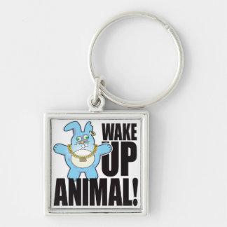 Animal Bad Bun Wake Keychain