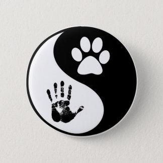 Animal Balance and Harmony Pinback Button