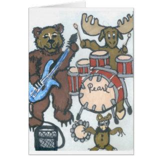 Animal Band Card