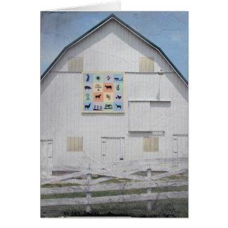 Animal Barn Card