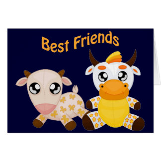 Animal Best Friends Card