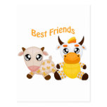 Animal Best Friends Postcard