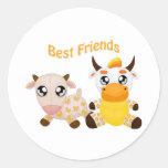 Animal Best Friends Sticker