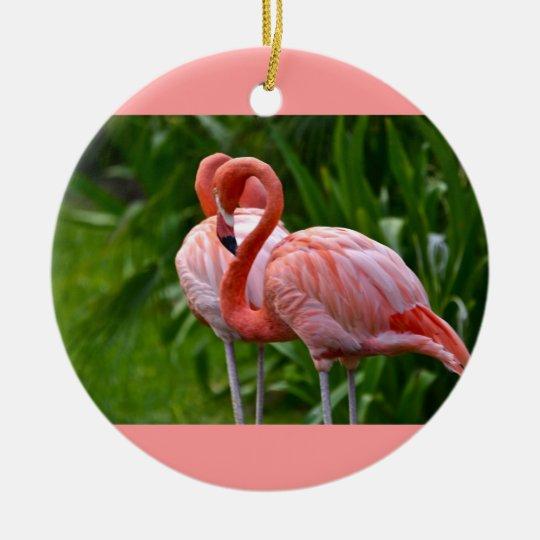 Animal Bird American Flamingo Ornament