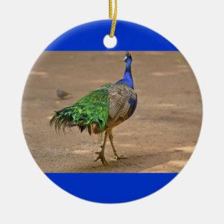 Animal Bird Peacock Ceramic Ornament