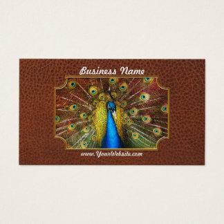 Animal - Bird - Peacock proud Business Card
