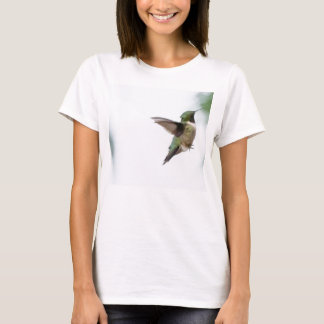 Animal Bird Ruby-throated Hummingbird T-Shirt