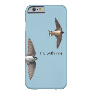 Animal Bird Tree Swallow and Barn Swallow Barely There iPhone 6 Case