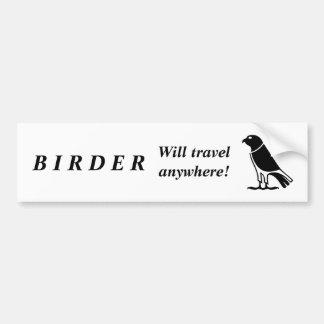 Animal Birder Bumper Sticker