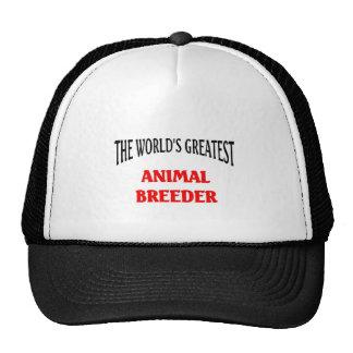 Animal breeder trucker hat
