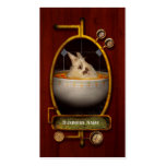 Animal - Bunny - There's a hare in my soup Double-Sided Standard Business Cards (Pack Of 100)