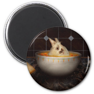 Animal - Bunny - There's a hare in my soup Magnet