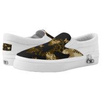 Animal Butterflies Slip-On Sneakers