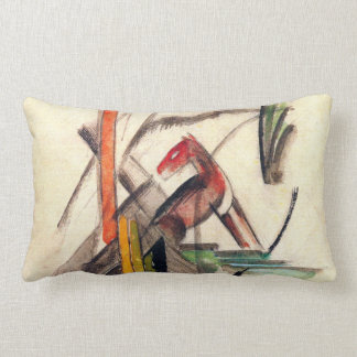 Animal by Franz Marc, Vintage Expressionism Art Throw Pillows