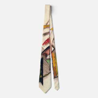 Animal by Franz Marc, Vintage Expressionism Art Tie