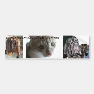 Animal Etiqueta De Parachoque