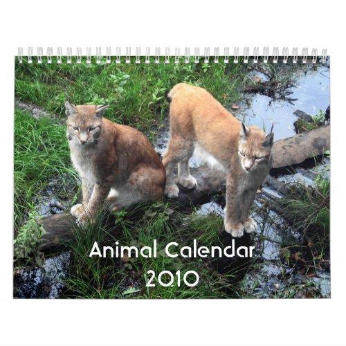 may 2010 calendar canada. Animal Calendar 2010 calendar