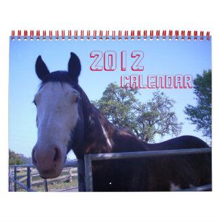 Animal Calendar 2012