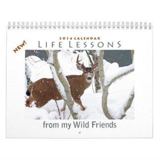 Animal Calendar 2014 - New Life Lessons