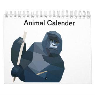 Animal Calender Calendar