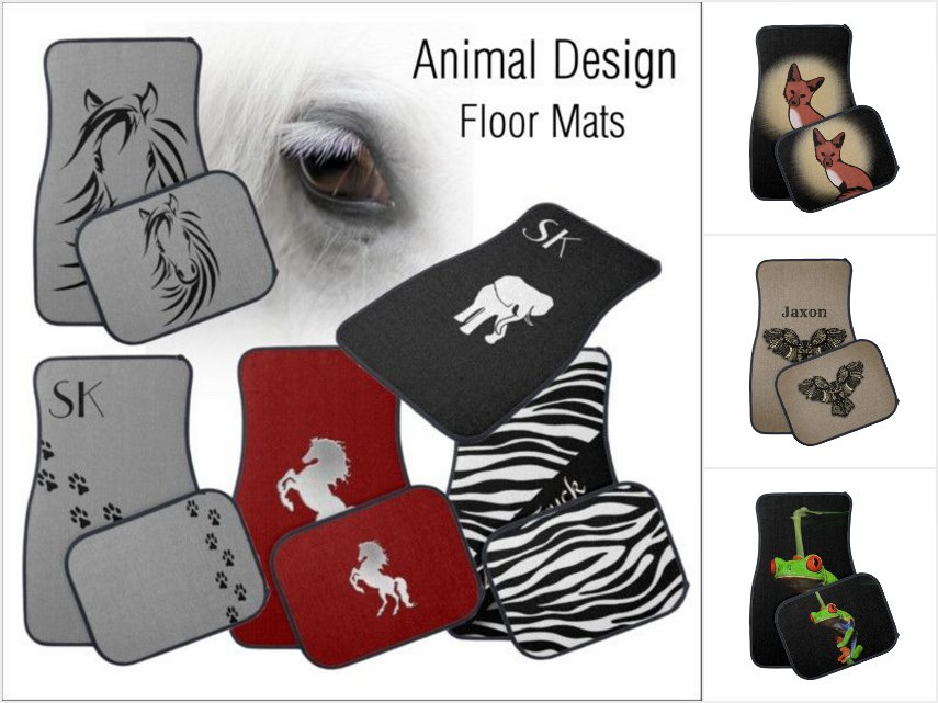 Animal Car Mats / Floor Mats