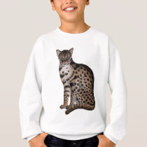 animal cat lynx primitive11.png sweatshirt