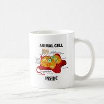 Animal Cell Inside (Eukaryote Cell Biology) Coffee Mugs