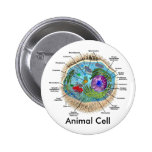 Animal Cell Pinback Buttons