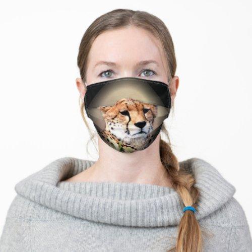 Animal Cheetah Adult Cloth Face Mask