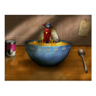 Animal - Chicken - Chicken Soup Postcard