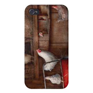 Animal - Chicken - The duck is a spy iPhone 4 Cases
