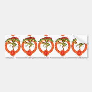 Animal chino del zodiaco - dragón pegatina para auto